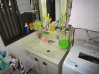 洗面化粧台施工例ー前